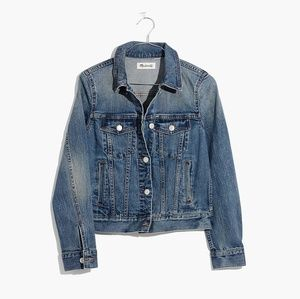 Madewell Shrunken Stretch Jean Jacket
